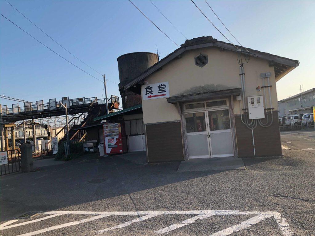 多度津駅の食堂