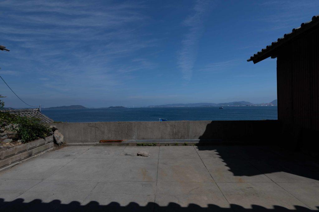 高見島からの海の景色