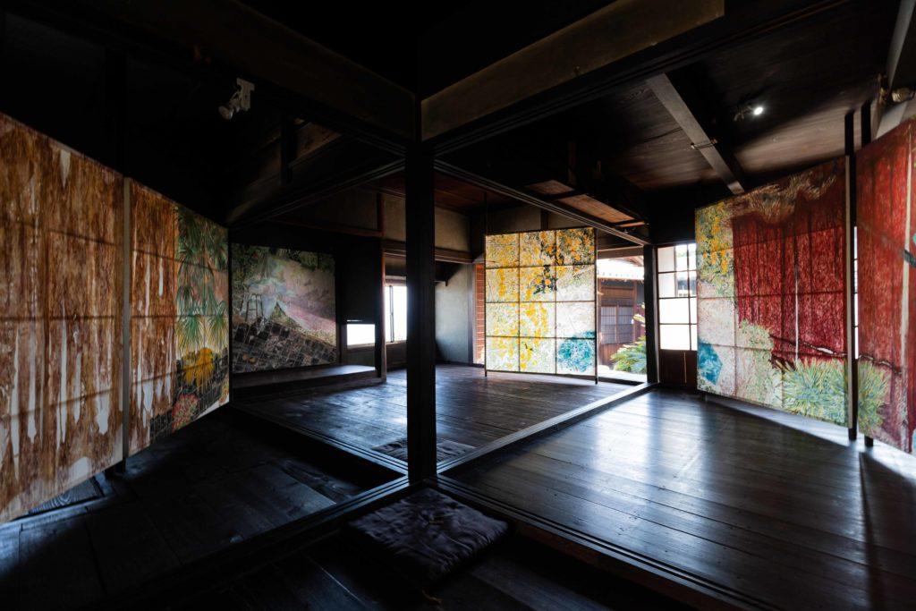 藤野裕美子の過日の同居
